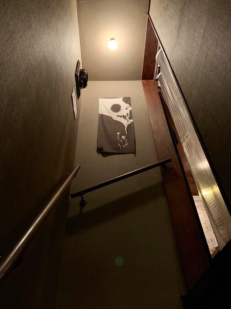 階段を上った先におしゃれな布あり