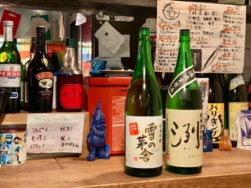 日本酒 雪の茅舎 烈