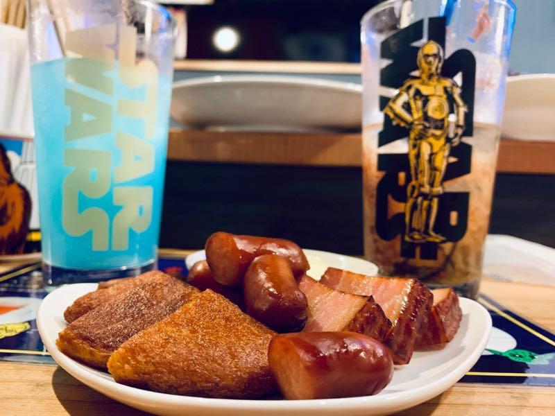 パチモンウォーズの飲み物と食べ物