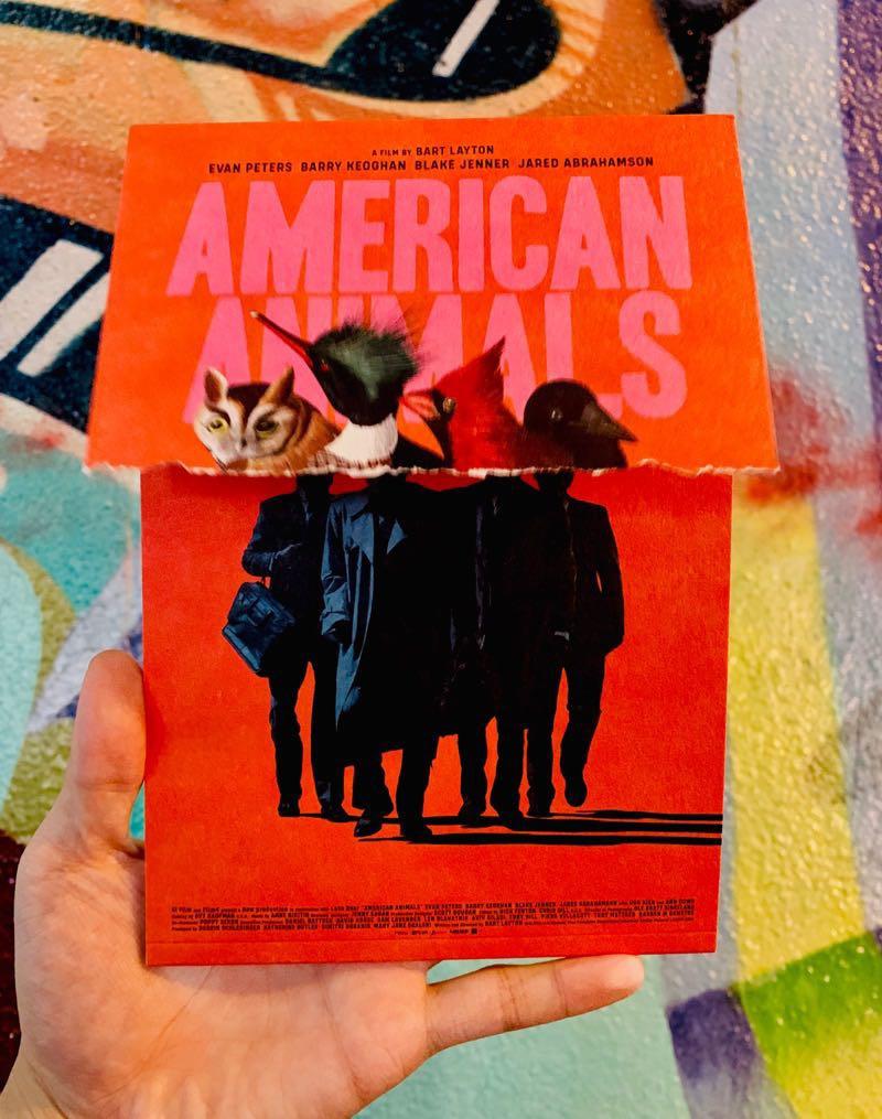 アメリカンアニマルズのパンフレット