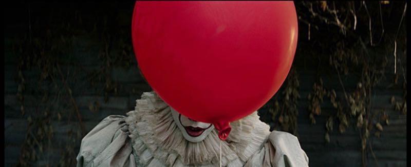 『IT/イット』赤い風船に隠れたピエロ