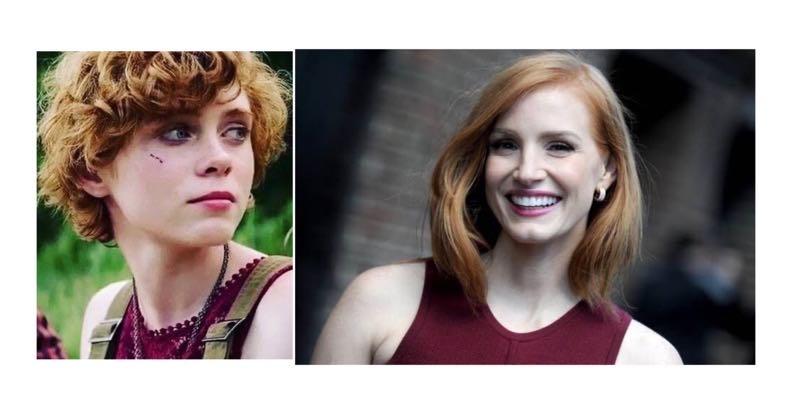 『IT』べバリー役、ソフィア・リリスとジェシカ・チャステーン